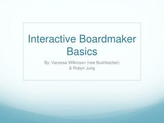 Interactive Boardmaker Basics