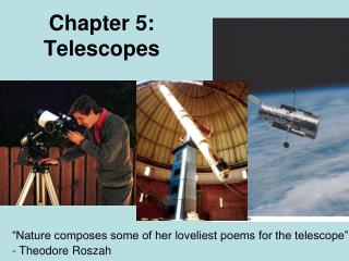 Chapter 5: Telescopes