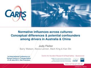 Normative influences across cultures: Conceptual differences & potential confounders