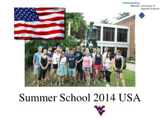 Summer School 2014 USA