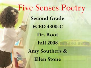 Five Senses Poetry