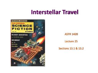 Interstellar Travel