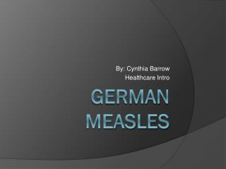 German measles