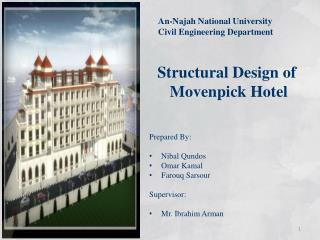 Structural  Design  of Movenpick Hotel