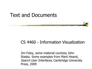 Text and Documents