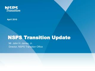 NSPS Transition Update