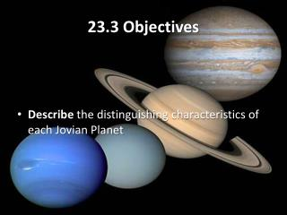 23.3 Objectives