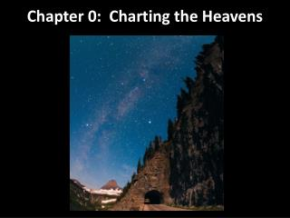 Chapter 0: Charting the Heavens