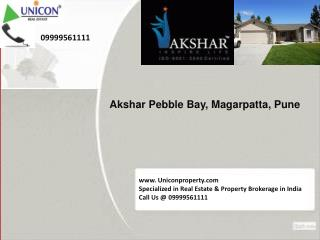 Akshar Pebble Bay Pune @ 09999561111 - Akshar Project Pune