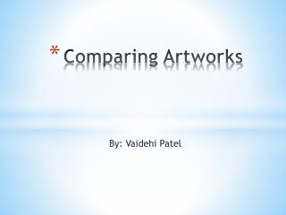Comparing Artworks