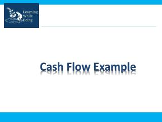 Cash Flow Example