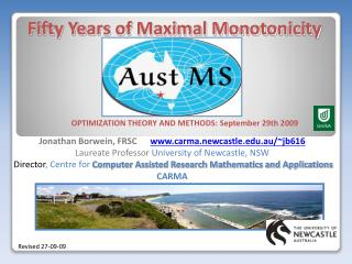 Fifty Years of Maximal Monotonicity