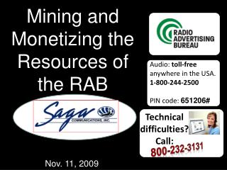 Mining and Monetizing the Resources of the RAB