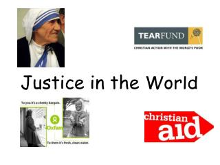 Justice in the World