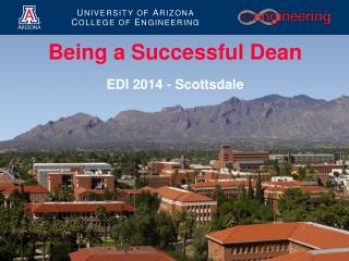 Being a Successful Dean EDI 2014 - Scottsdale