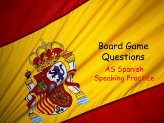 Board Game Questions