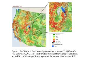 Figure  11.  The same maps as in Fig.  8  but for the 2012 western U.S. wildfire season.