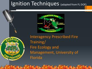 Interagency Prescribed Fire Training/ Fire Ecology and Management, University of Florida