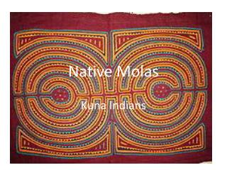 Native  Molas