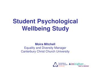 Student Psychological Wellbeing Study