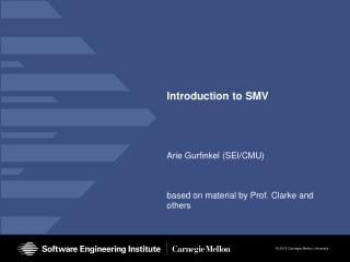 Introduction to SMV