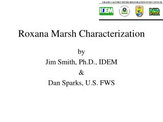 Roxana Marsh Characterization