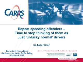 Repeat speeding offenders –  Time to stop thinking of them as  just 'unlucky normal' drivers