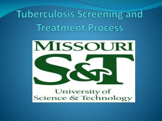 Tuberculosis Screening and Treatment Process