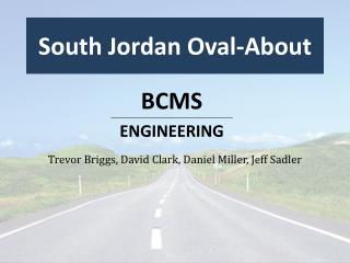 South Jordan Oval-About