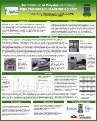 Quantification of Polyamines T hrough High- Pressure Liquid Chromatography