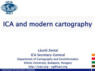 ICA and modern cartography