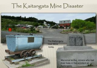 The  Kaitangata  Mine Disaster