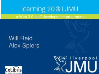 a Web 2.0 staff development programme