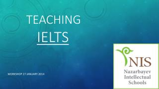 Teaching IELTS