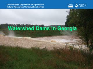 Watershed Dams in Georgia