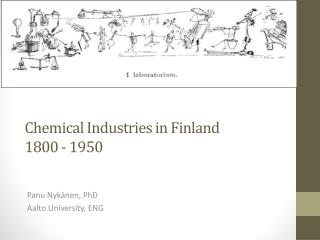 Chemical Industries  in Finland 1800 - 1950
