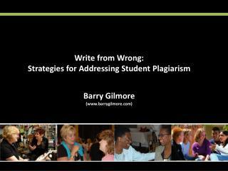 Barry Gilmore (www.barrygilmore.com)