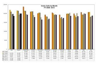 Monthly Data for Website Call Center August 2012