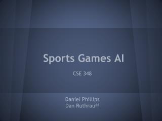 Sports Games AI