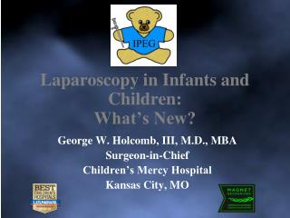 Laparoscopy in Infants and Children: What's New?