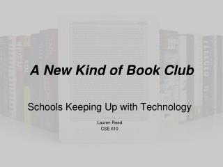 A New Kind of Book Club