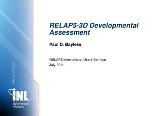RELAP5-3D Developmental Assessment