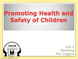 health and safety in the child Overview of act and final rule addresses four major areas: 1 protect the health and safety of children in child care 2 enhance the quality of child care and the early.
