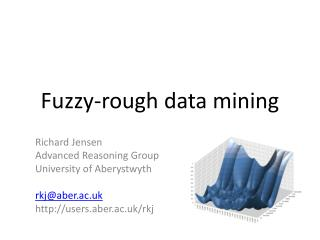 Fuzzy-rough data mining