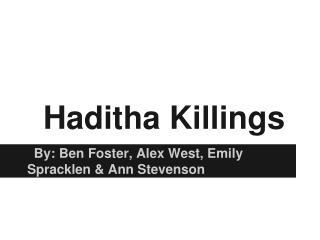 Haditha Killings
