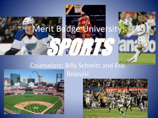 Merit Badge University:  SPORTS