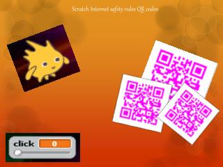 Scratch Internet safety rules QR codes