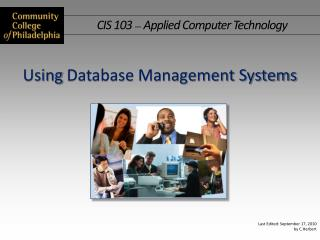 Using Database Management Systems