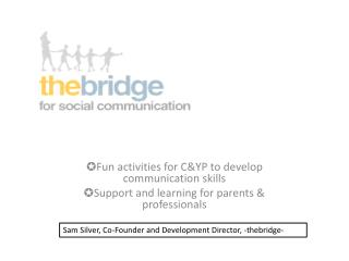 ✪ Fun activities for C&YP to develop communication skills