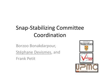 Snap-Stabilizing Committee Coordination